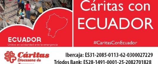Ayuda a Ecuador