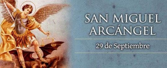 Festividad de San Miguel Arcangel