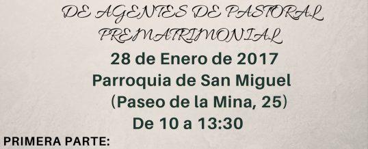 Encuentro Agentes Pastoral Prematrimonial