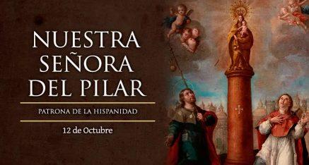 Festividad Nuestra Señora del Pilar